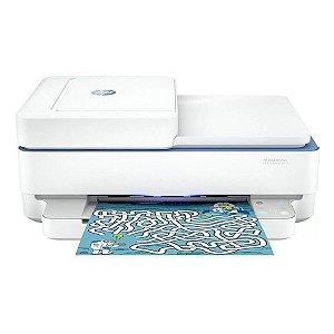 Impressora multifuncional wireless jato de tinta HP DeskJet Plus Ink Advantage 6476 (5SD79A)