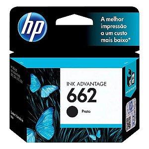Cartucho de tinta HP 662 preto (CZ103AB)