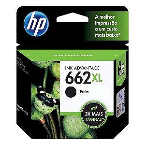 Cartucho de tinta HP 662XL preto (CZ105AB)