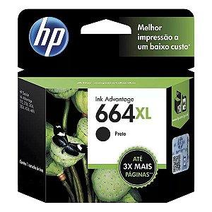 Cartucho de tinta HP 664XL preto (F6V31AB)