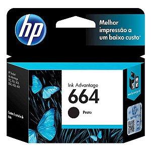 Cartucho de tinta HP 664 preto (F6V29AB)