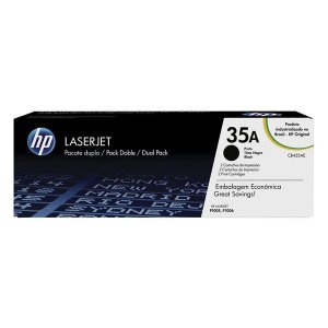Toner HP dual pack CB435AE preto (2 x CB435AB)