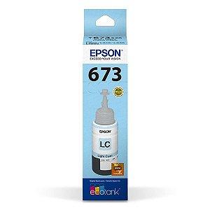 Garrafa de tinta Epson T673520-AL ciano claro 70 ml