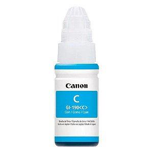 Garrafa de tinta Canon GI-190C ciano 70 ml