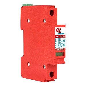 Protetor de surto VCL 275V 12,5/60kA slim Clamper