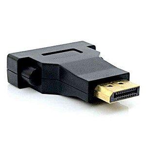 Adaptador Displayport M x DVI F Plus Cable ADP-102BK