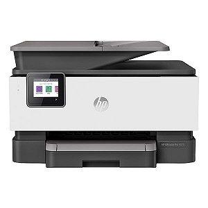 Impressora multifuncional wireless jato de tinta HP OfficeJet Pro 9010 (1KR46C)
