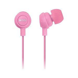 Fones de ouvido oex FN100 rosa (48.7000)