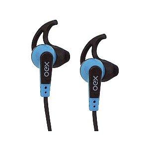 Headset oex Sprint FN206 preto/azul (48.7081)