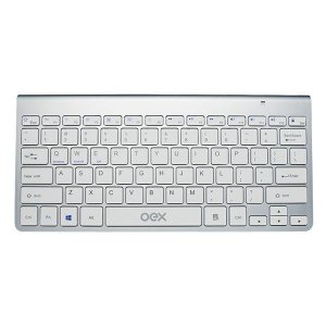 Teclado Bluetooth oex Elite prata TC501 (48.5940)