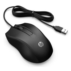 Mouse USB HP 100 (6VY96AA)