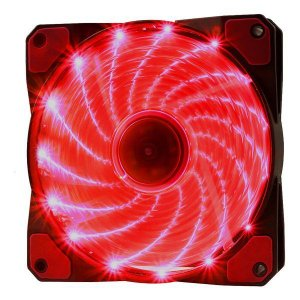 Cooler para gabinete oex F20 vermelho (48.7226)