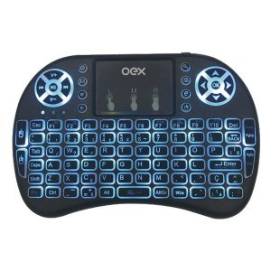 Teclado com touchpad oex Air Mouse (51.8900)