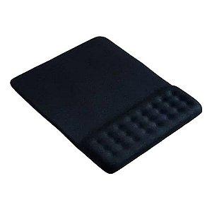 Mouse pad com apoio ergonômico em gel Multilaser AC365
