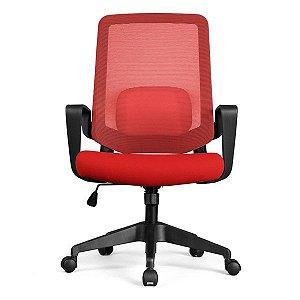 Cadeira de escritório DT3 Office Verana vermelha (12076-6)