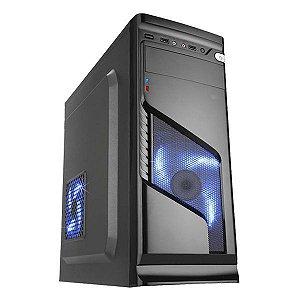 Gabinete gamer K-MEX Solid Snake CG-02R6 led azul