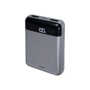 Power bank USB 10000 mAh oex Lush Mini PB305 chumbo (48.7309)