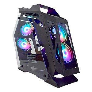Gabinete gamer K-MEX Case Mod Micro Ranger CG-01PQ