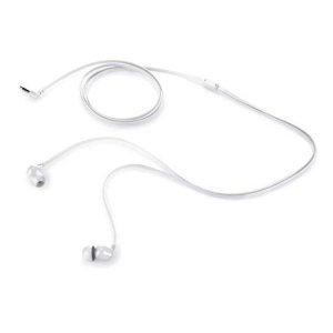 Fone de ouvido intra auricular HP H100 branco (2NV39AA)