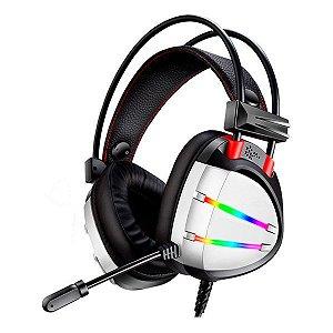 Headset gamer K-MEX AR70 prata