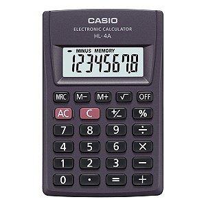 Calculadora de bolso 8 dígitos Casio HL-4A (56740)