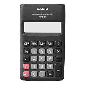Calculadora de bolso 8 dígitos Casio HL-815L (54115)