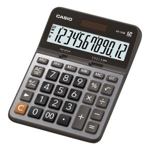 Calculadora de mesa 12 dígitos Casio DX-120B (71843)