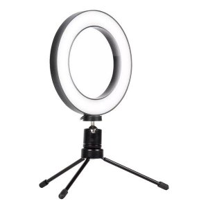 "Iluminador Ring Light 6"" Exbom ILUM-R06W5"
