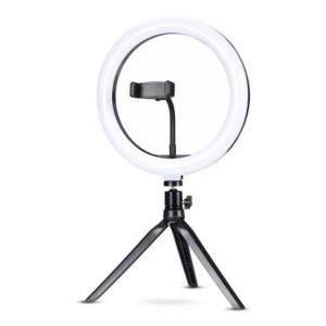 "Iluminador Ring Light 10"" Exbom ILUM-R10W12"