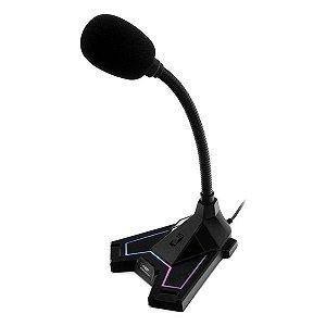 Microfone gamer USB C3Tech MI-G100BK