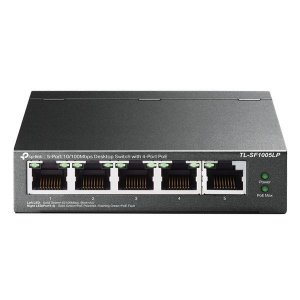 Switch Ethernet 5 portas 10/100 Mbps TP-Link TL-SF1005LP