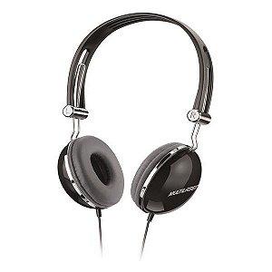 Fones de ouvido Multilaser Superbass PH053 preto
