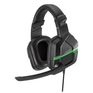 Headset gamer Multilaser Warrior Askari PH291 preto/verde