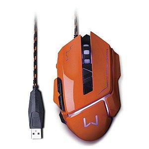 Mouse gamer USB Multilaser Warrior Ivor MO263