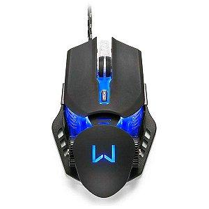 Mouse gamer USB Multilaser Warrior Keon MO267
