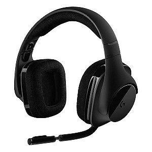 Headset gamer wireless 7.1 canais Logitech G533 (981-000633)