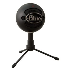 Microfone condensador USB Blue Snowball Ice preto (988-000067)