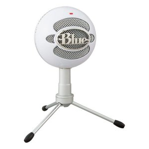 Microfone condensador USB Blue Snowball Ice branco (988-000070)