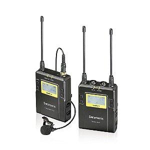 UWMIC9  (RX9 + TX9) Microfone de lapela sem fio digital UHF de 96 canais