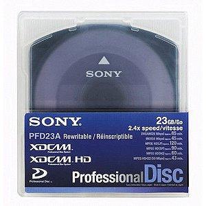 Mídia XDCAM Sony 23GB