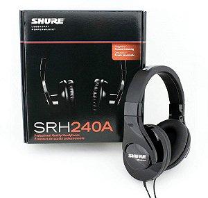 Shure SRH240A - Headphones Estéreo Profissionais