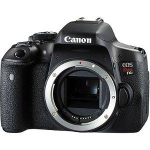 Câmera DSLR Canon EOS Rebel T6i (Apenas Corpo)