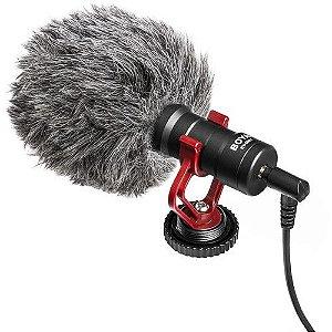 Microfone Condensador Cardioide BOYA BY-MM1