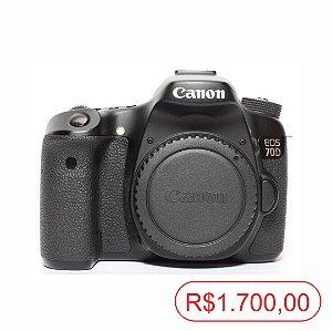 Canon 70D Seminova