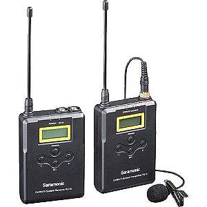 Saramonic UWMIC15 V2 - Microfone de Lapela