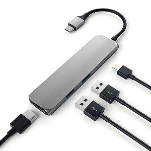 Adaptador USB tipo C Hub