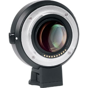 Adaptador Viltrox EF-E II 0,71x para lente de montagem EF Canon