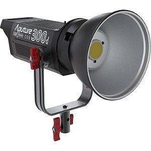 Kit de iluminação LED Aputure Light Storm C300d com placa de bateria de montagem em V