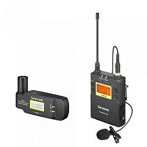 Sistema de microfone XLR - Saramonic UwMic9 Kit7 (TX9+ RX-XLR9)