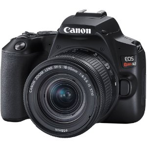 Canon EOS Rebel SL3 DSLR Camera com18-55mm Lens (Black)